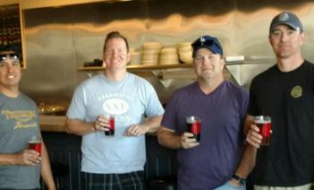 Sentinel Peak/38 Specials brew team