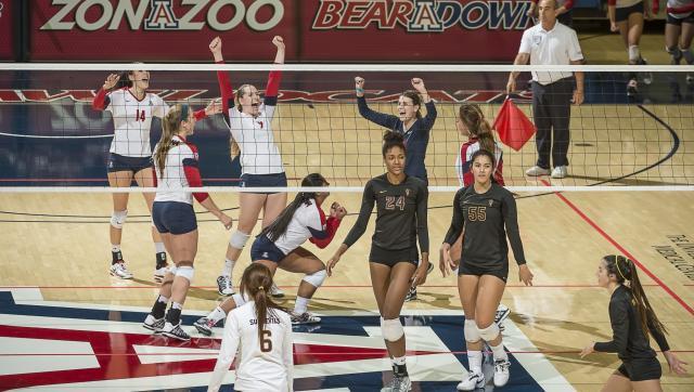 University of Arizona volleyball vs. ASU