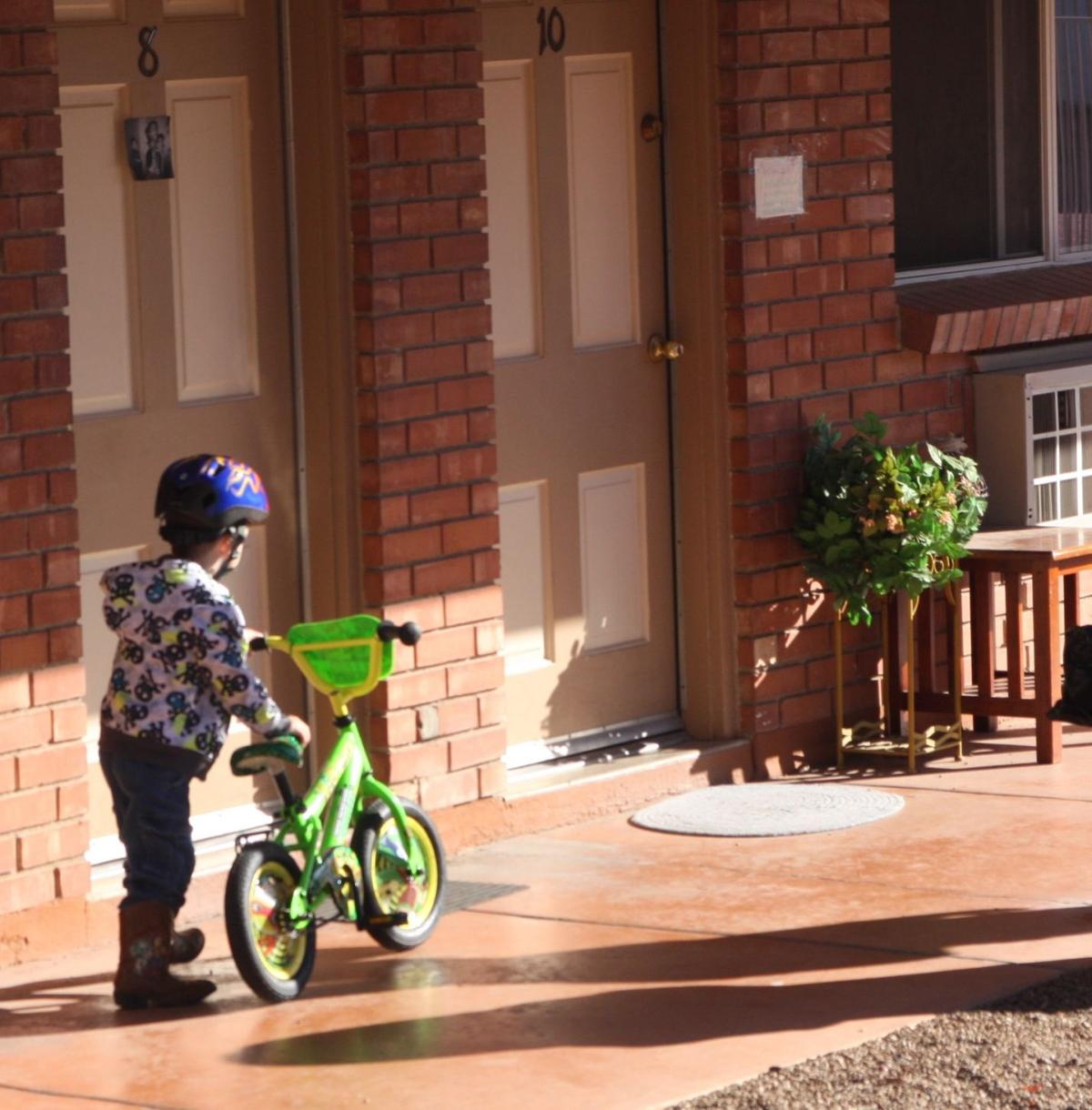 Zach and his bike