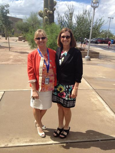 McSally visits with Catalina Foothills