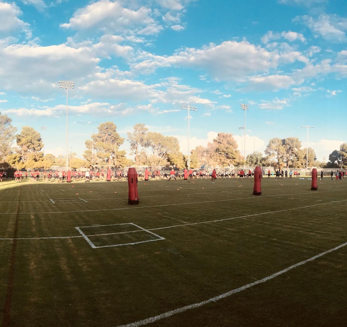 UA Football Camp