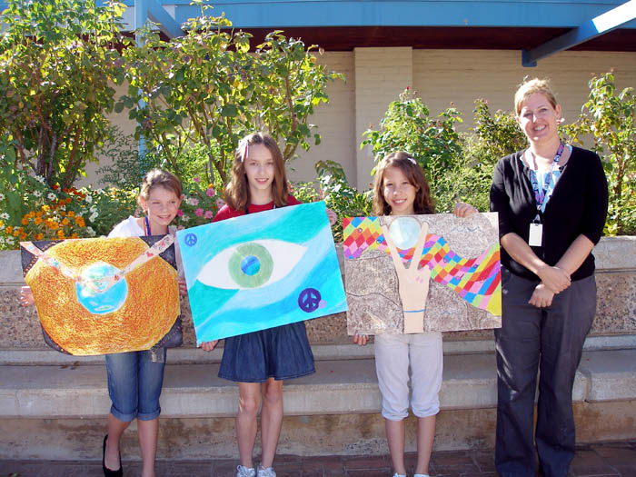 Peace Poster winners