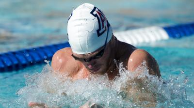 Kevin Cordes UA swimmer