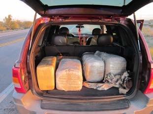 Pinal County marijuana load
