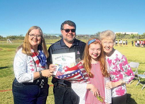 Wilson Veterans Day Assembly