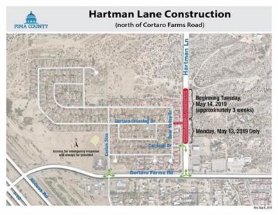 Hartman Lane construction