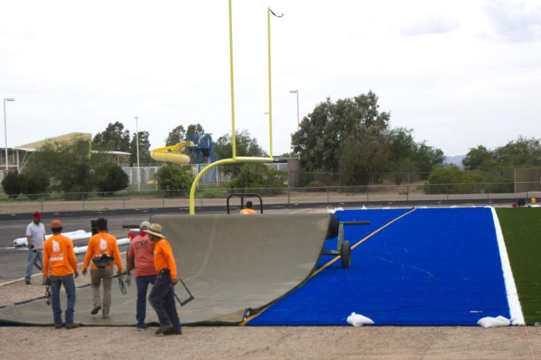 Marana's new football field