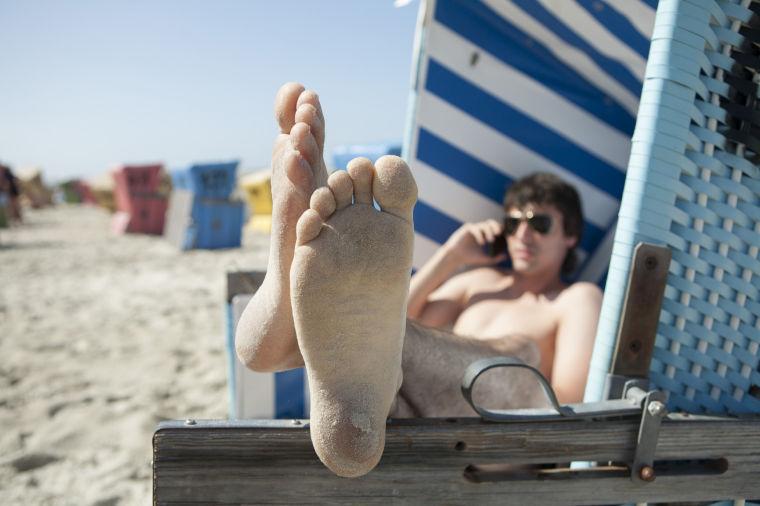 Beach phone