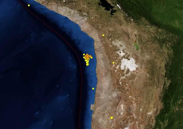 Chile Earthquakes