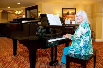 Splendido resident Marie Hampton