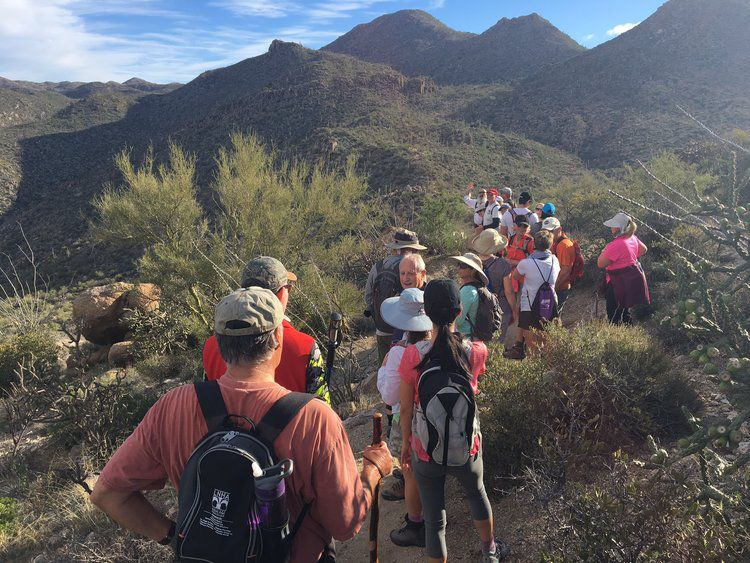 Guides hikes