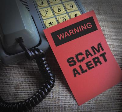 Phone call scam alert