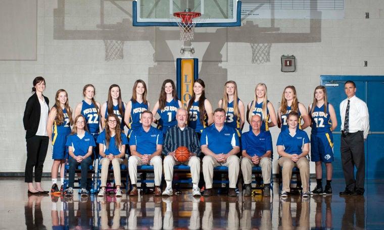 Pusch Ridge Christian Academy girls' basketball
