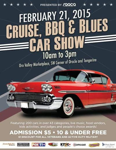 Cruise, BBQ and Blues Car Show