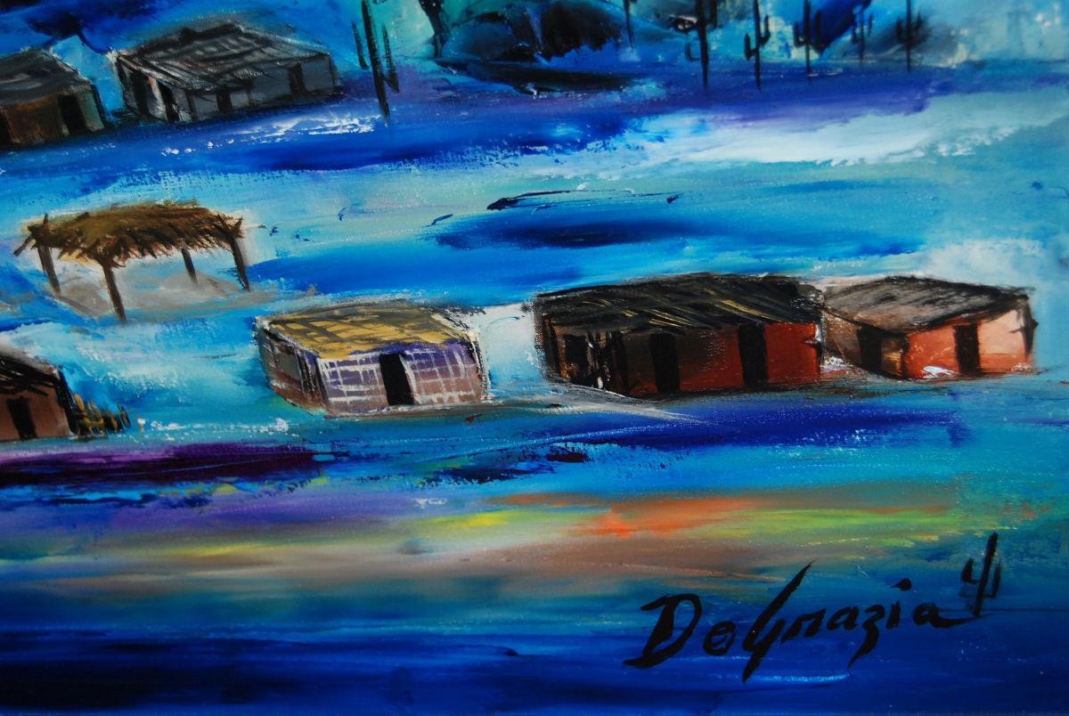 DeGrazia Gallery embracing the night