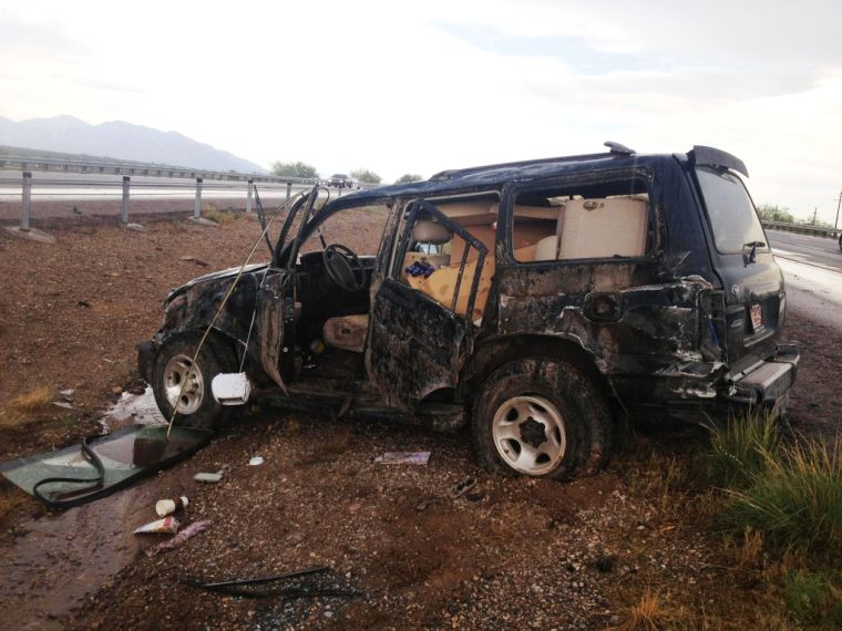 Northwest Fire responds to rollover accident