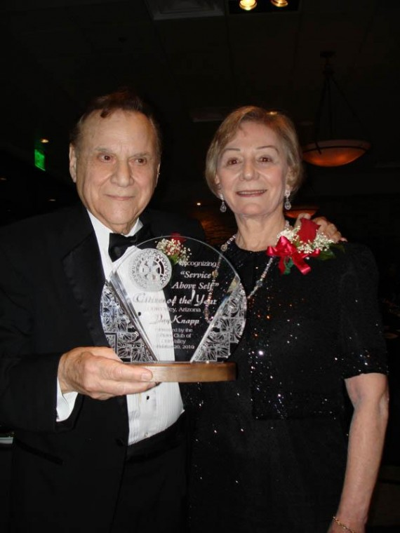 Knapp humbled by Rotary award