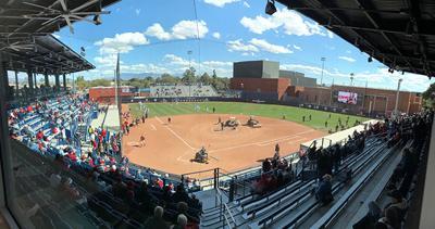 Hillenbrand Stadium softball