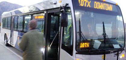 Park-n-ride dedicated; express bus users rising