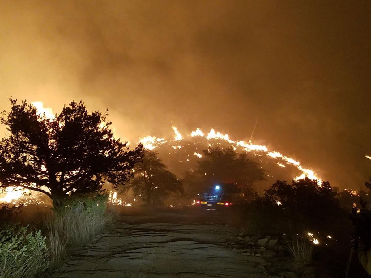 Santa Catalina's Burro fire