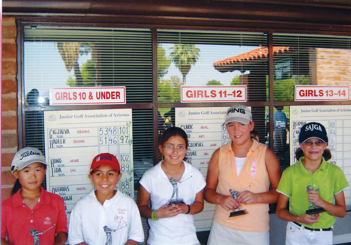 Golfing for dollars 1