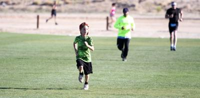 Youth participating in the 5K