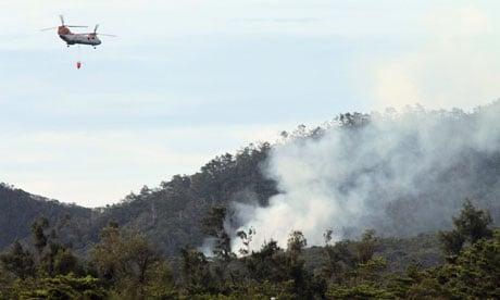 Okinawa US helicopter crash