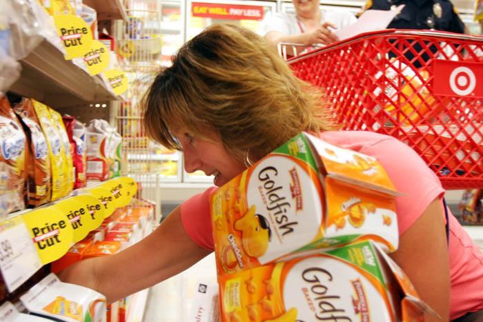 Teachers shop for school supplies