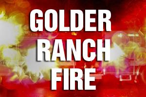 Golder Ranch Fire