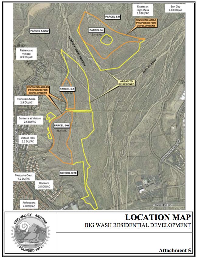 Rezoning locations
