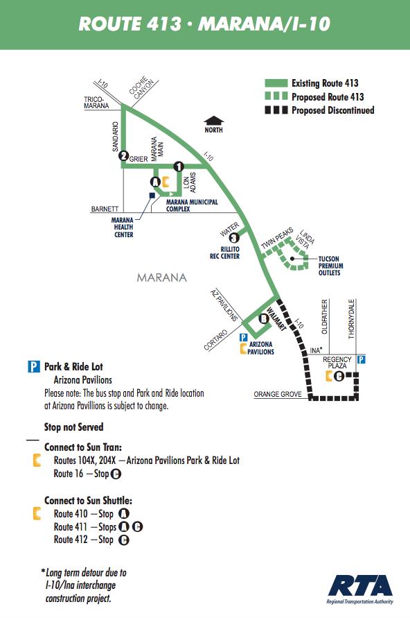 Bus Route 413