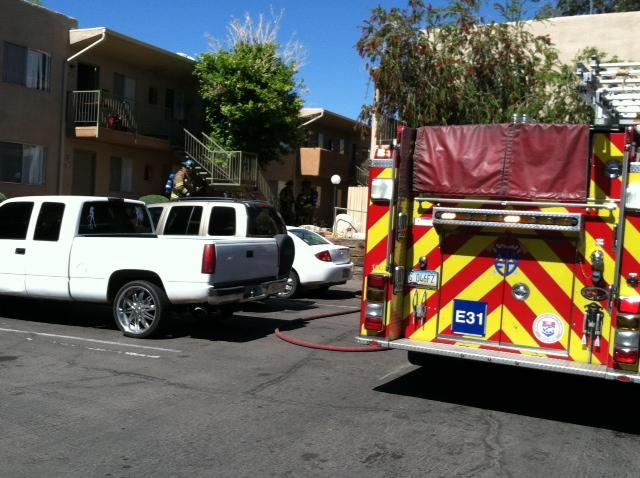 Mattress fire kills family dog, injures resident