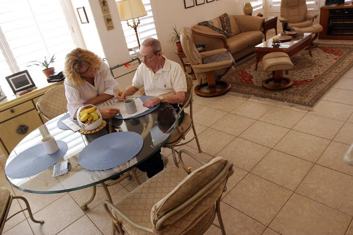 Couple finds way to stay