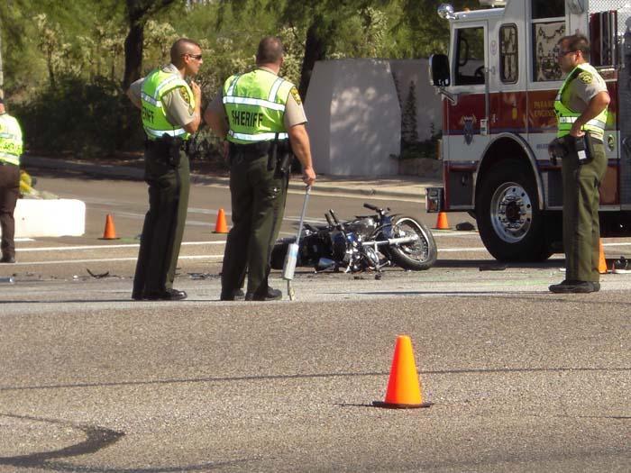 Motorcycle crash kills 2