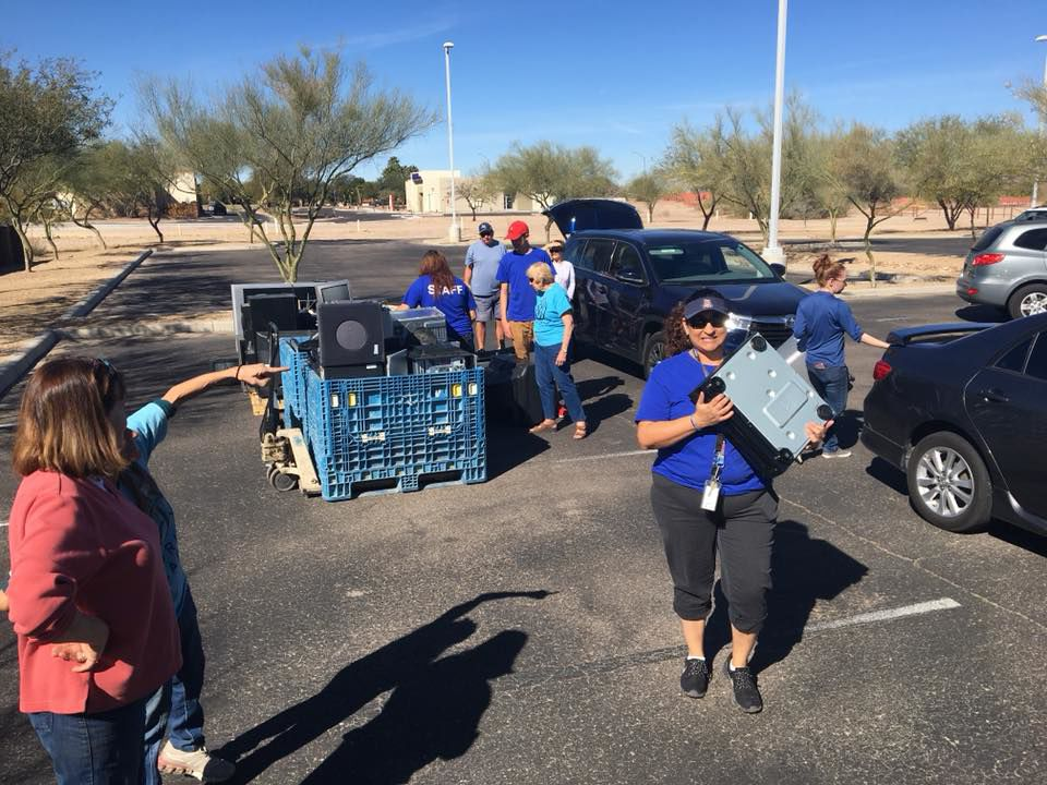 Recycling in Marana