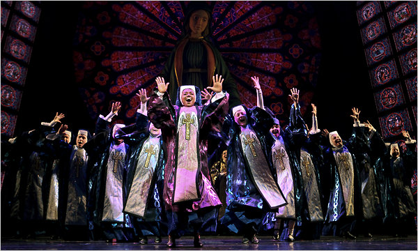 SISTER ACT broadway show