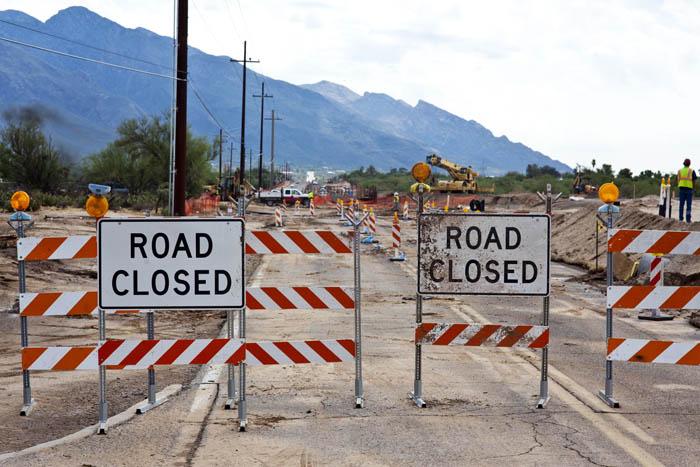 Magee road closure