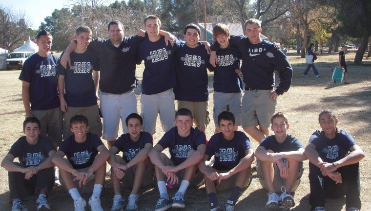 Ironwood Ridge basketball team