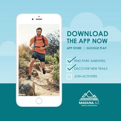Parks App Promo Flyer