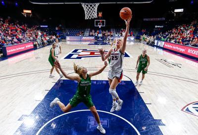 Arizona Wildcats women's basketball vs. North Dakota