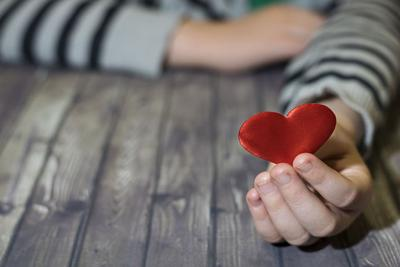 Heart In Child Hands