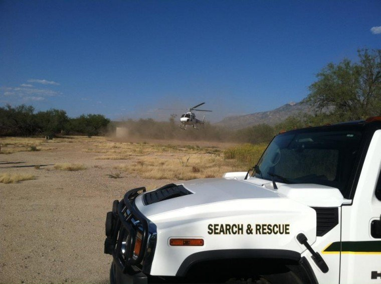 Catalina State Park rescue