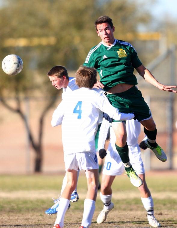 Canyon Del Oro vs Pusch Ridge men's soccer
