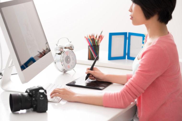 computer work finances