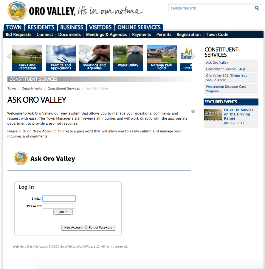 Ask Oro Valley