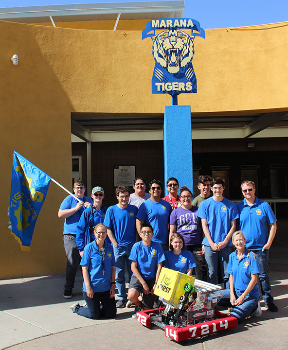 Marana students build competition-killing robot | Tucson Local Media