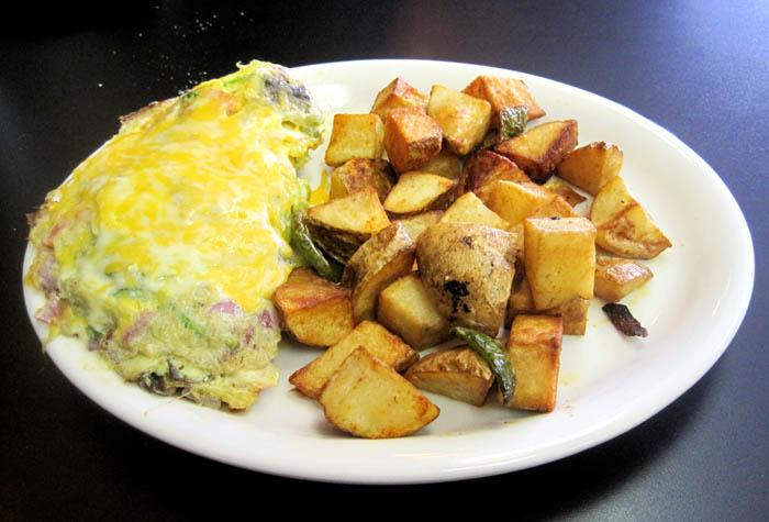 Sahuaro omelet
