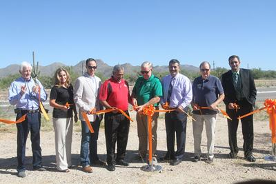 Marana Roads Ribbon Cutting