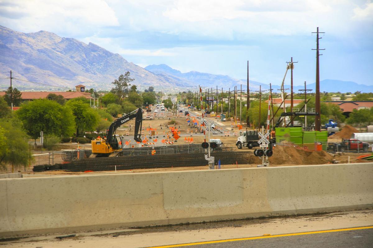 Ina Road construction