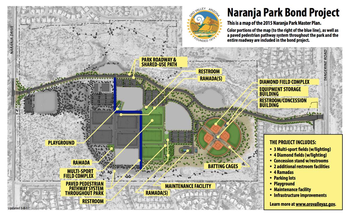 Naranja Park Bond Map